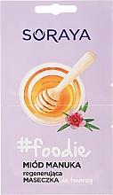 Kup Regenerująca maseczka do twarzy Miód manuka - Soraya #Foodie