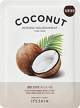 Kup Maska do twarzy w płachcie Kokos - It's Skin The Fresh Mask Sheet Coconut