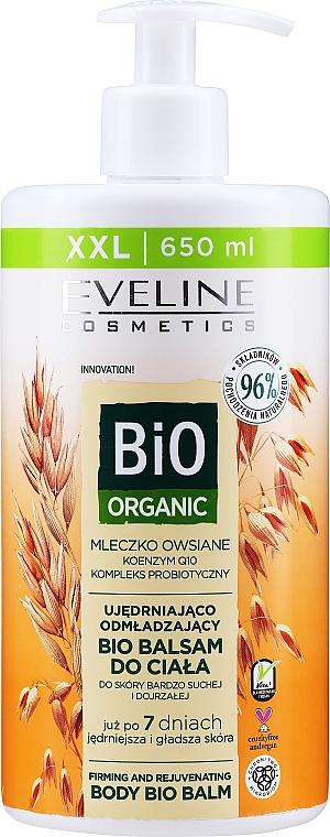 Ujędrniająco-odmładzający balsam do ciała - Eveline Cosmetics Bio Organic