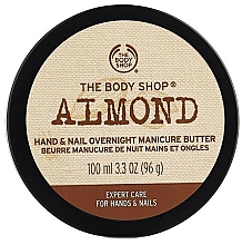 Kup Balsam do paznokci i skórek, Migdał - The Body Shop Almond Hand & Nail Overnight Manicure Butter