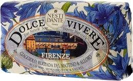 Kup Mydło kosmetyczne Niebieski irys, poranna rosa i liść laurowy - Nesti Dante Dolce Vivere Firenze