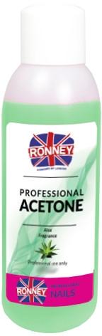 Acetonowy zmywacz do paznokci Aloes - Ronney Professional Acetone Aloe