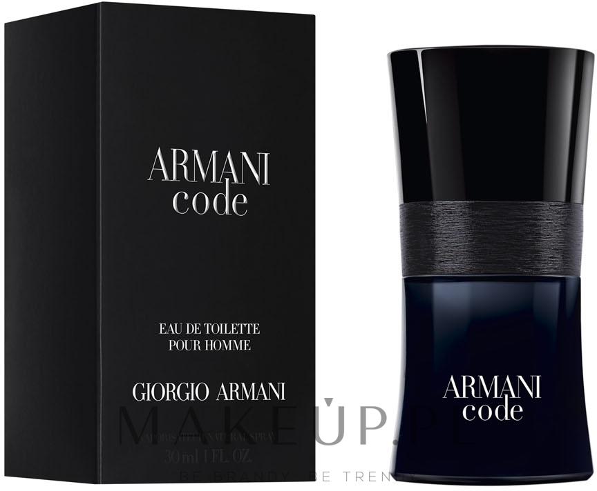 Giorgio Armani Code - Woda toaletowa — фото 30 ml