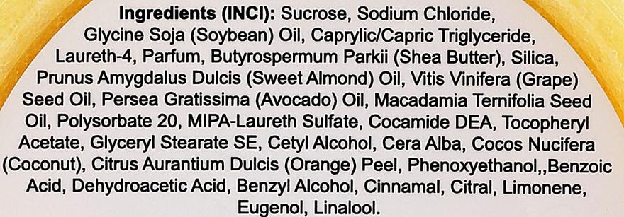 Oczyszczająco-relaksujący peeling solno-cukrowy do dłoni i stóp Pomarańcza i kokos - Melli Care Hand & Foot Ritual Orange & Coconut Scrub — фото N3