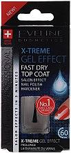 Kup Lakier nawierzchniowy do paznokci zapewniający efekt żelowego manicure - Eveline Cosmetics Nail Therapy Professional