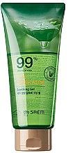 Kup Kojący żel aloesowy do twarzy, ciała i paznokci - The Saem Jeju Fresh Aloe Soothing Gel 99% (tubka)