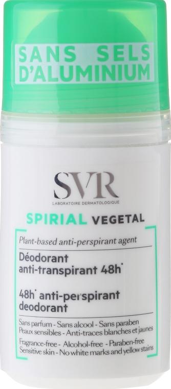 Dezodorant-antyperspirant w kulce bez soli glinu - SVR Spirial Végétal — фото N1
