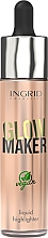 Kup Rozświetlacz w płynie - Ingrid Cosmetics Glow Maker Bali Vegan Highlighter