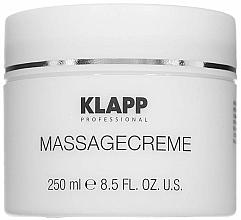 Kup Krem do masażu - Klapp Massage Creame