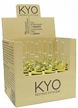 Kup Regenerujące ampułki z keratyną do włosów - Kyo Restruct System Fiale Keratiniche Ristrutturanti