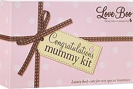 Kup Zestaw dla mamy - Love Boo Congratulations Mummy Kit (b/butter 90 ml + oil 100 ml + bath/soak 250 ml)