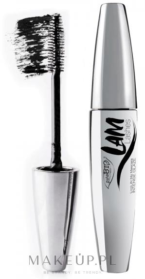 Tusz do rzęs - PuroBio Cosmetics LAM Lashes Mascara — фото Extra Black
