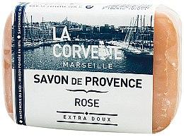 Kup Mydło w kostce Róża - La Corvette Provence Soap Rose