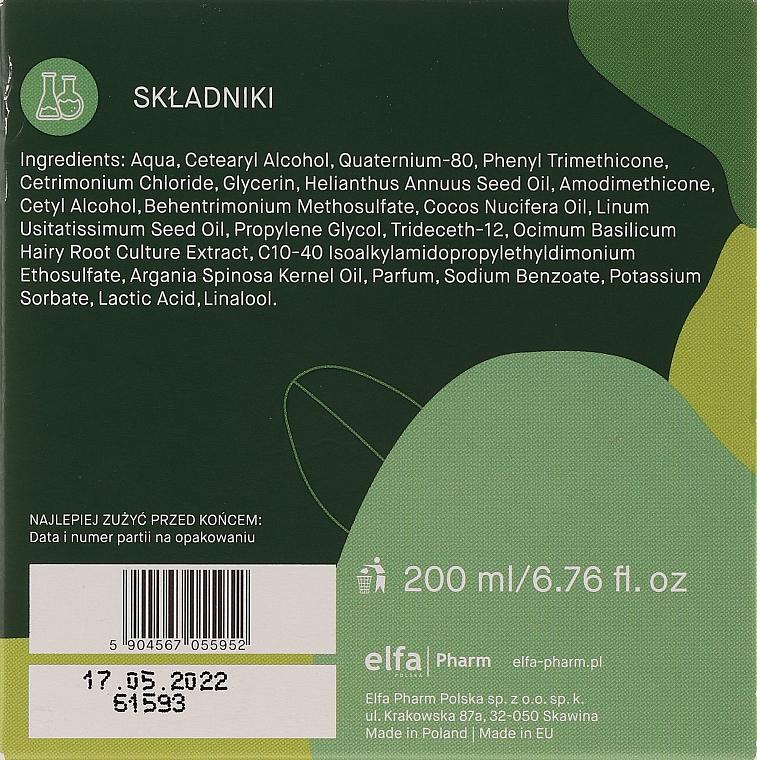 Maska zapobiegająca wypadaniu włosów - _Element Basil Strengthening Anti-Hair Loss Mask — фото N2