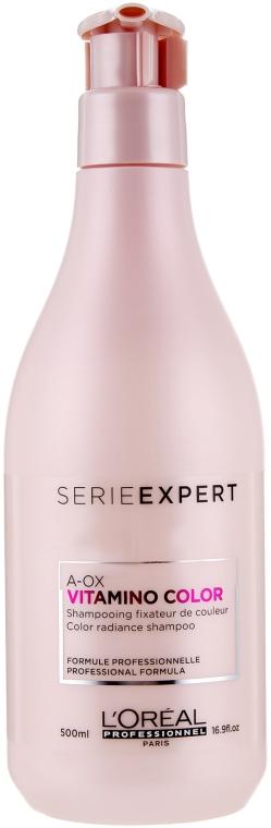 Szampon przedłużający trwałość koloru - L'Oreal Professionnel Vitamino Color AOX Shampoo