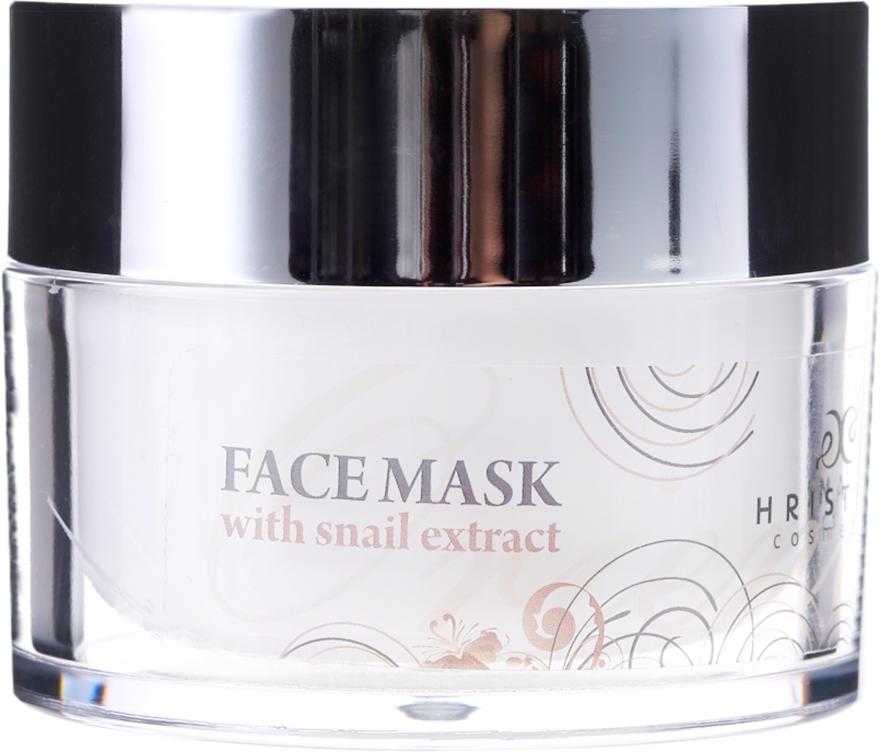 Naturalna maska do twarzy z ekstraktem ze ślimaka - Hristina Cosmetics Orient Snail Face Mask