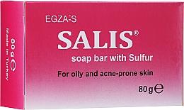 Kup Mydło siarkowe do skóry tłustej i problematycznej - Egza-S Salis Soap Bar With Sulfur