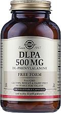 Kup Suplement diety Kompleks aminokwasów 500 mg - Solgar DLPA DL-Phenylalanine