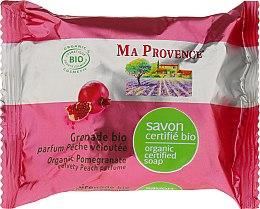 Kup Organiczne mydło w kostce Granat - Ma Provence Pomegranate Organic Soap