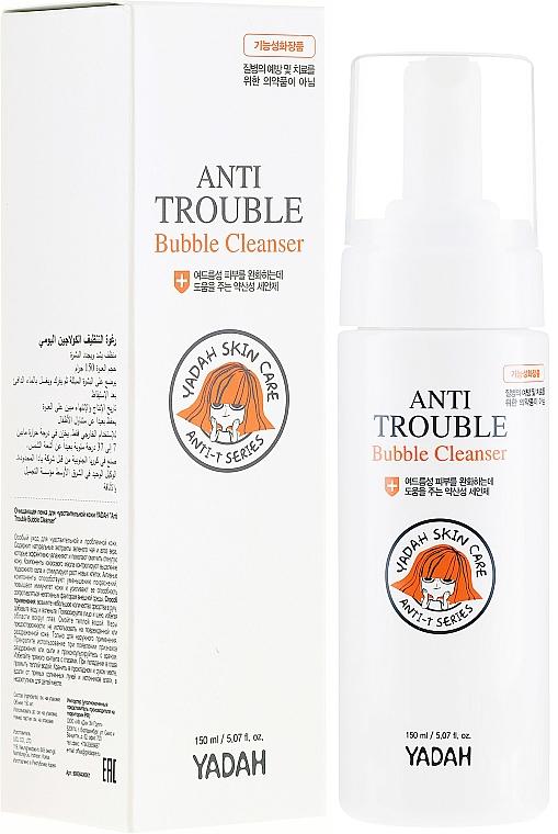 Oczyszczająca pianka do twarzy - Yadah Anti-Trouble Bubble Cleanser — фото N1
