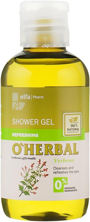 Orzeźwiający żel pod prysznic z ekstraktem z werbeny - O'Herbal Refreshing Shower Gel (miniprodukt)