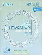 Kup Maska do twarzy do skóry wrażliwej - 7th Heaven 24H Hydration Sensitive Skin Sheet Mask
