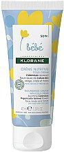Kup Odżywczy krem z cold cream - Klorane Bebe Nourishing Cream with Cold Cream