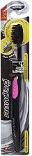 Kup Antybakteryjna szczoteczka z węglem aktywnym, różowa - Twin Lotus Bamboo Charcoal Toothbrush