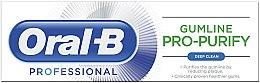 Pasta do zębów - Oral-B Professional Gumline Pro-Purify Deep Clean Toothpaste — фото N2