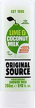 Kup Nawilżający żel pod prysznic Limonka i mleczko kokosowe - Original Source