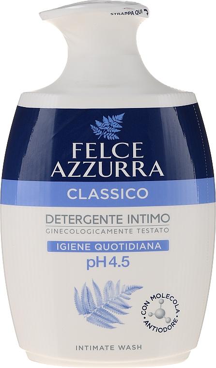 Delikatne mydło w płynie do higieny intymnej - Felce Azzurra Classic Intimate Wash — фото N1