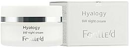 Kup Rozjaśniający krem przeciwstarzeniowy do twarzy - ForLLe'd Hyalogy BW Night Cream