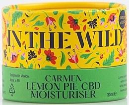Kup Nawilżający krem do twarzy Cytryna i CBD - In The Wild Carmen Lemon Pie CBD Moisturiser