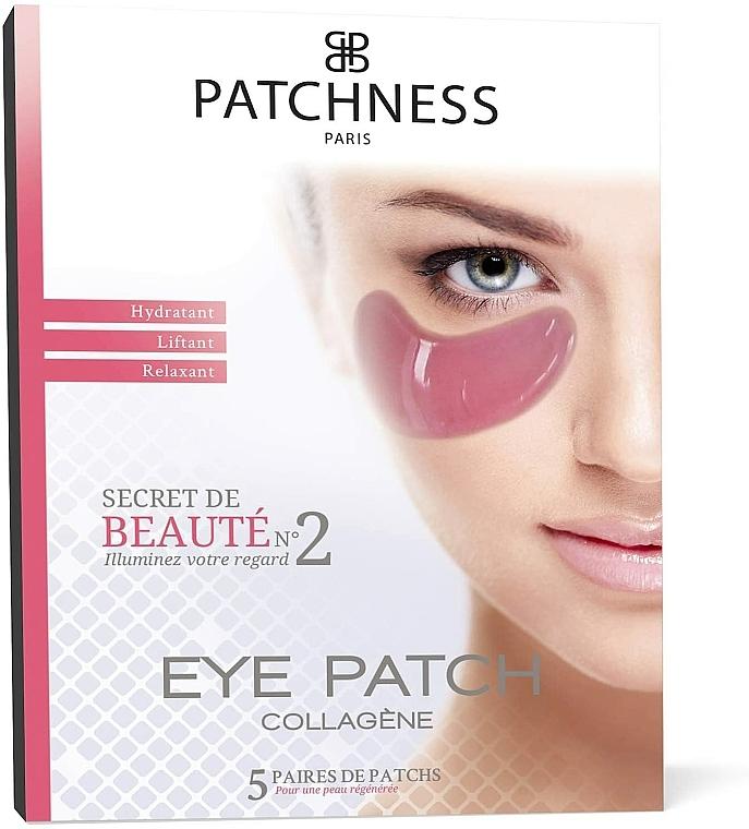 Płatki pod oczy z kolagenem i ekstraktem z czerwonych winogron - Patchness Eye Patch Pink — фото N1