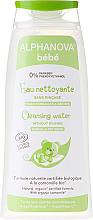 Kup PRZECENA! Woda micelarna do mycia skóry - Alphanova Bebe Cleansing Water *