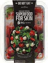 Kup Zestaw masek na tkaninie do skóry suchej i zmęczonej - Superfood For Skin Dried And Tired Skin (7 x mask 25 ml)