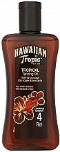 Kup Opalizujący olejek kokosowy SPF 4 - Hawaiian Tropic Tropical Tanning Oil Coconut SPF 4