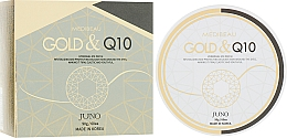 Kup Hydrożelowe płatki pod oczy Złoto i koenzym Q10 - Juno Medibeau Hydrogel Eye Patches Gold&Q10
