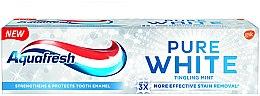 Kup Wybielająca pasta do zębów - Aquafresh Pure White Tingling Mint