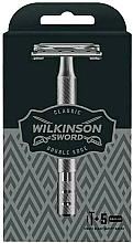 Kup Maszynka do golenia + 5 wymiennych ostrzy - Wilkinson Sword Classic Double Edge