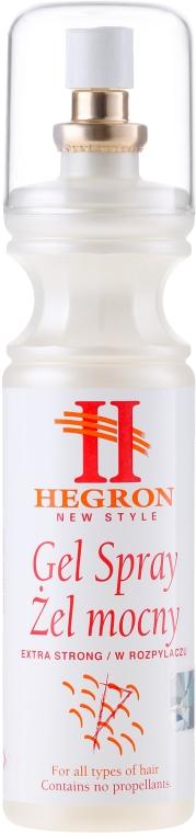 Mocny żel do stylizacji włosów - Hegron Styling Gel Spray Extra Strong