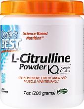 Kup L-cytrulina w proszku - Doctor's Best