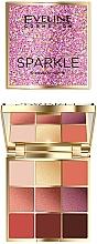 Kup Paleta cieni do powiek - Eveline Cosmetics Sparkle
