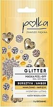 Kup Maska peel-off do twarzy Nawilżenie + napięcie Bursztyn - Polka Glitter Peel Off