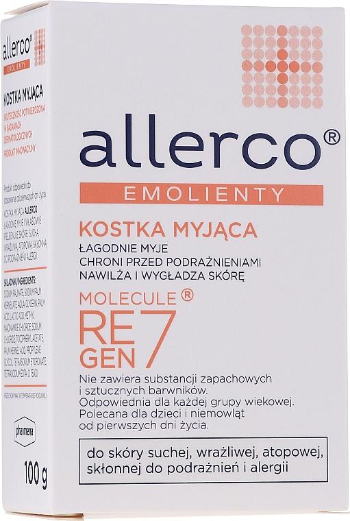 Kostka myjąca z emolientem - Allerco Emolienty Molecule Regen7 Soap — фото N1