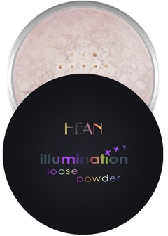 Sypki puder rozświetlający do twarzy - Hean Illumination Loose Powder — фото N1