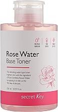 Kup Odświeżający tonik z wodą różaną do twarzy - Secret Key Rose Water Base Toner