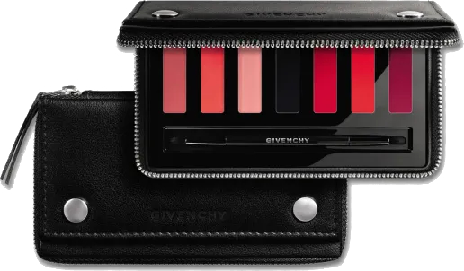 Paletka szminek do ust - Givenchy Le Rouge Lips On The Go Lipstic — фото N1