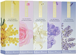 Kup Charrier Parfums Parfums De Provence - Zestaw perfum (edt/30ml + edt/30ml + edt/30ml + edt/30ml + edt/30ml)