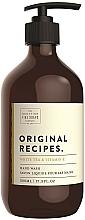 Kup Mydło do rąk w płynie - Scottish Fine Soaps Original Recipes White Tea & Vitamin E Hand Wash